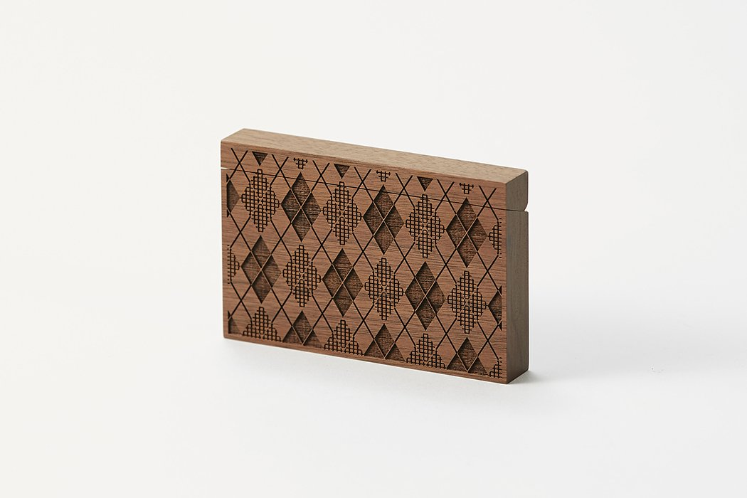 Card Chest / argyle