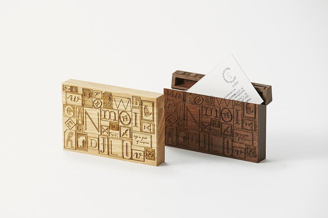 Card Chest(カードチェスト) / letterpress blocks