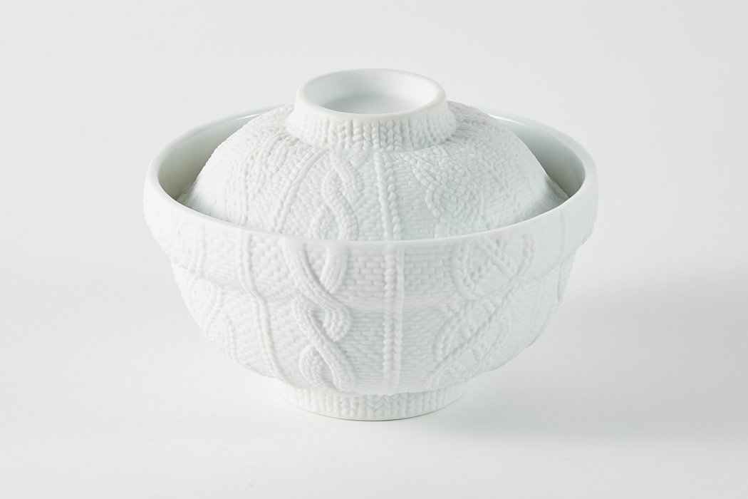 Trace Face donburi (トレースフェイス 丼)/ Knit wear