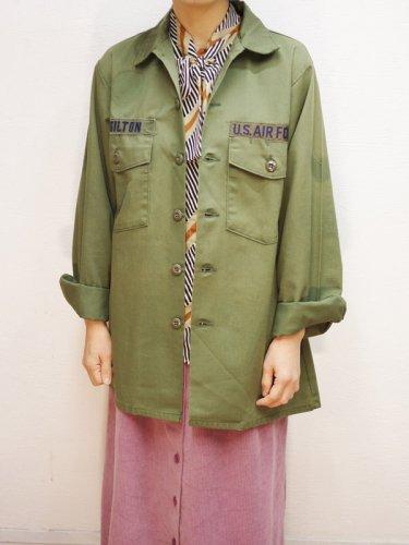 McGILTONワッペン付きミリタリーシャツジャケット