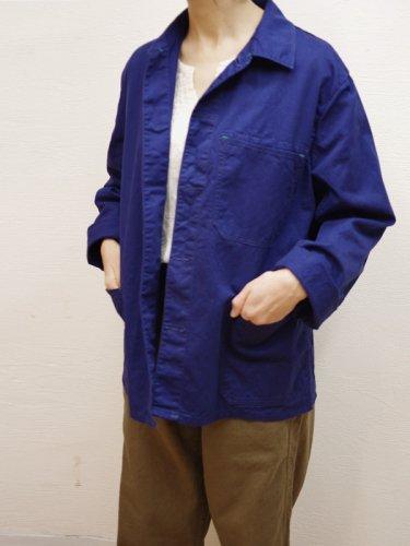 ネイビーのユーロワークジャケット