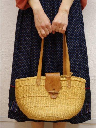 ミドルサイズのケニヤバッグ