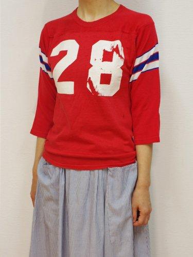 ナンバリングフットボールTシャツ