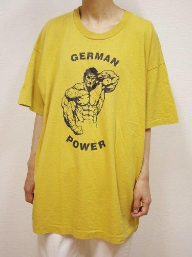マッスルプリントのビッグTシャツ