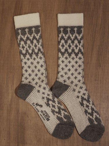 ノルディックウールローゲージソックス/SOUKI socks