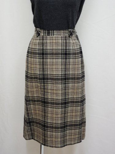 PENDLETONのツイードタイトスカート