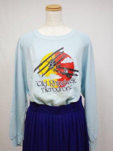 エアロドロームプリントのスウェットシャツ