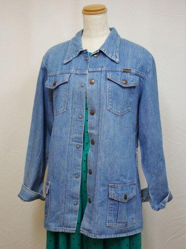 Wranglarのデニムのジャケット