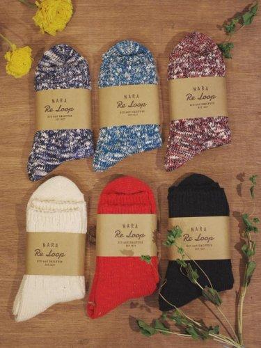 リサイクルコットンショートソックス/SOUKI socks
