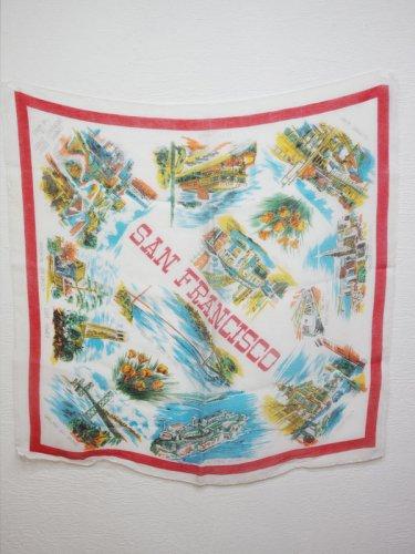 SanFranciscoのスーベニアスカーフ