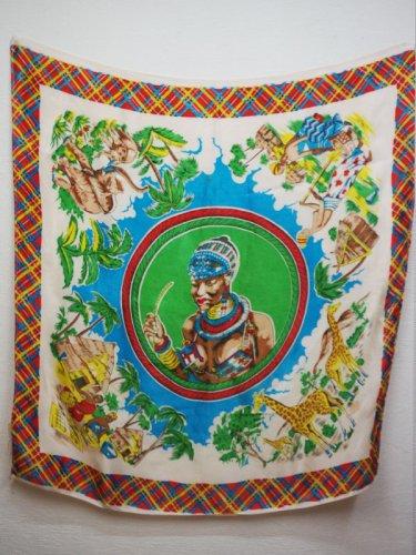 アフリカのスーベニアスカーフ