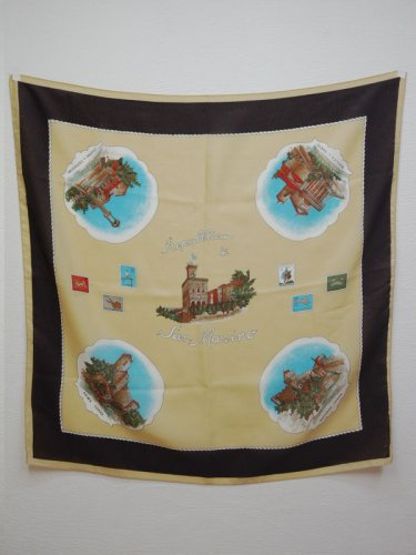 SanMarinoのスーベニアスカーフ