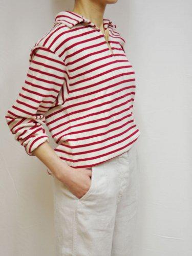 ROYAL NAVY襟付きマリンボーダーのTシャツ