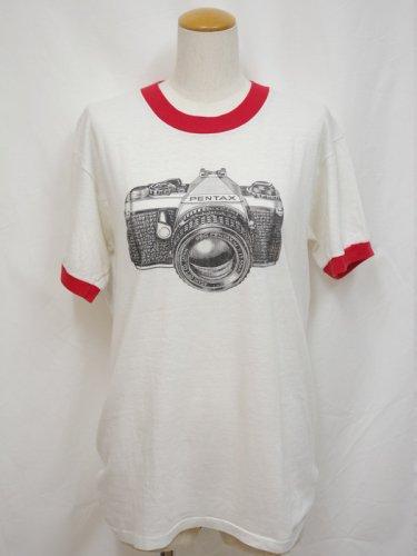 <img class='new_mark_img1' src='https://img.shop-pro.jp/img/new/icons1.gif' style='border:none;display:inline;margin:0px;padding:0px;width:auto;' />PENTAXカメラのプリントリンガーTシャツ