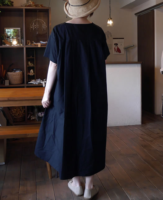 MidiUmi, ミディウミ, 2-754149, back tucked wide one piece