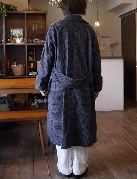MidiUmi, ミディウミ, 3-774208, soutien collar check coat