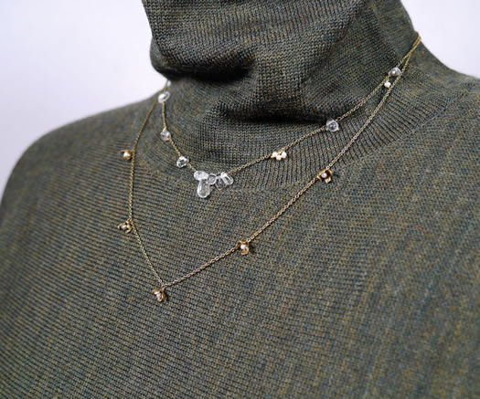 31486691, Vlas Blomme, ブラスブラム, Little Petal Necklace