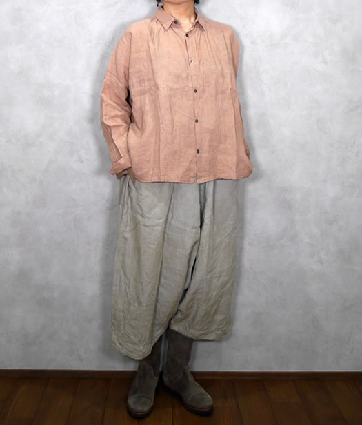 ichi Antiquite's, イチアンティークス, 500601, Color Linen Shirt