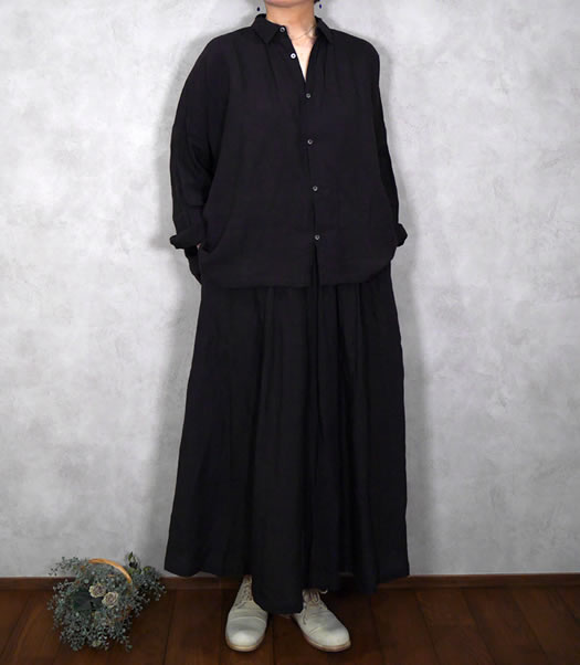 ichi Antiquite's, イチアンティークス, 600301, Color Linen Washer Shirt