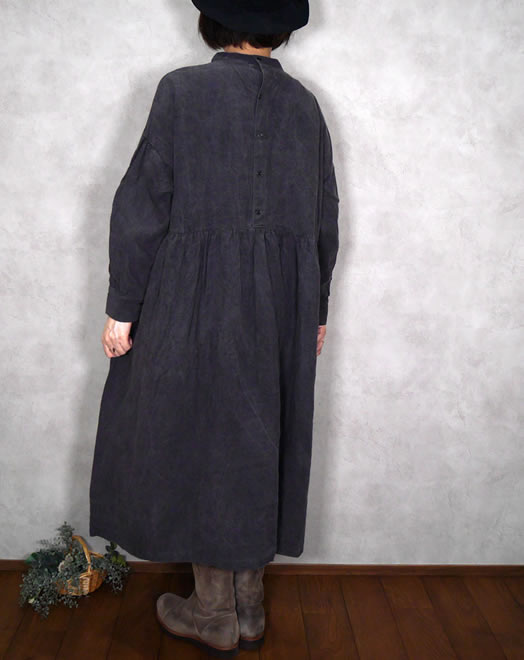 ichi Antiquite's, イチアンティークス, 600623, Dyed Linen Dress