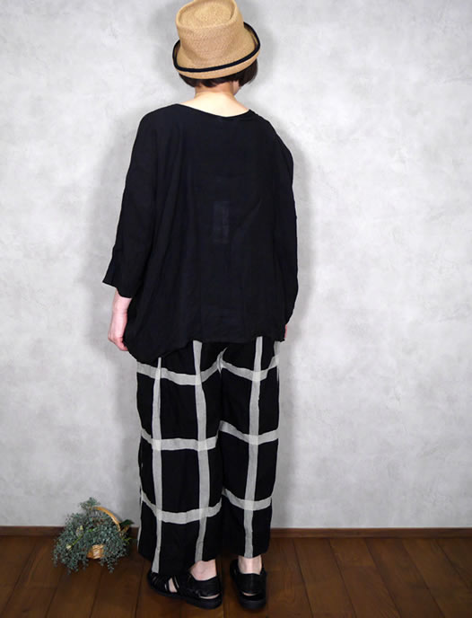 ichi Antiquite's, イチアンティークス, 601213, Lattice Check Pants