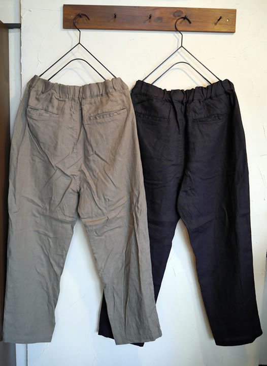 Heavenly, ヘブンリー, 813101,Linen Tuck Tarpered Pants