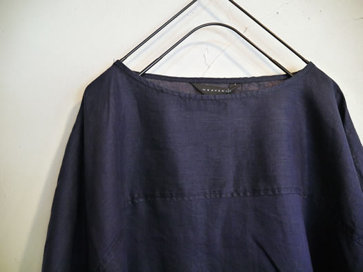 Heavenly,ヘブンリー, 824204, Linen Wide Pull-Over Tunic