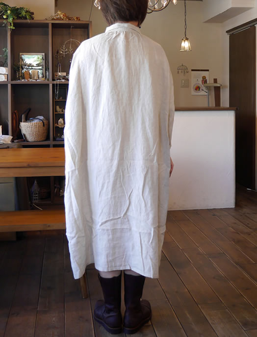 Heavenly,ヘブンリー, 848201, Linen Gather Shirtr One Piece, リネンギャザーシャツワンピース