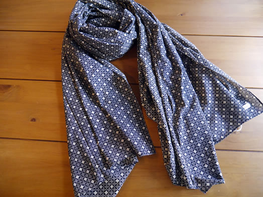 maison de soil, メゾンドソイル, INMDS18606, Voile Small Flower Stole