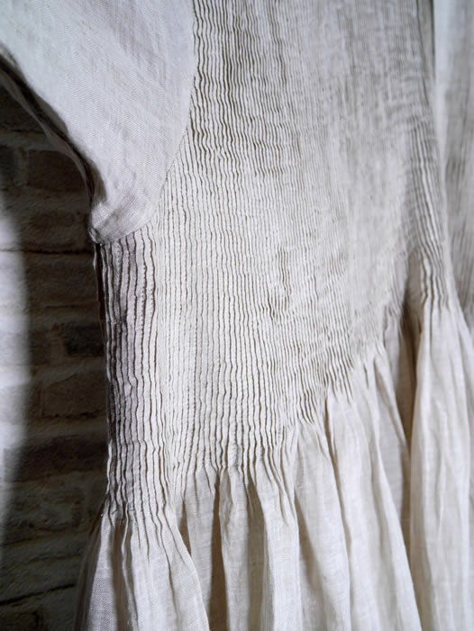 maison de soil, メゾンドソイル,80's Handwoven Linen Plain With Selvage,INMDS21004