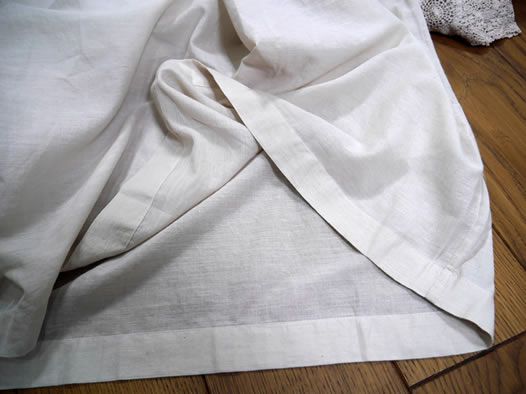 maison de soil, メゾンドソイル,100's x 150's Khadi Gathered Neck Dress,INMDS21044