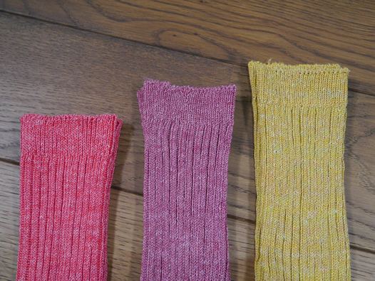L010, Loiter, Linen Patterened Socks