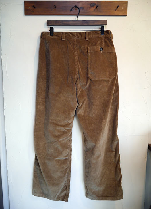 ARMEN, アーメン, NAM1203CD, Corduroy Wash One-Tuck Pants