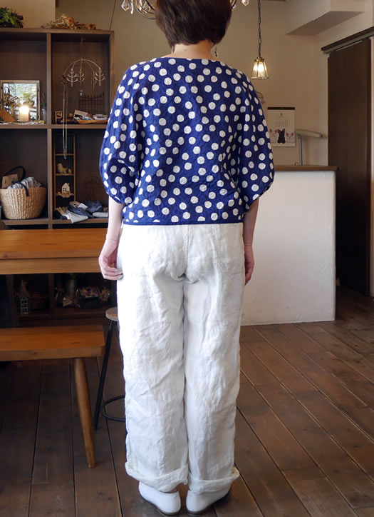 ARMEN, アーメン, NAM1203LH, Linen Herringbone One-Tuck Pants