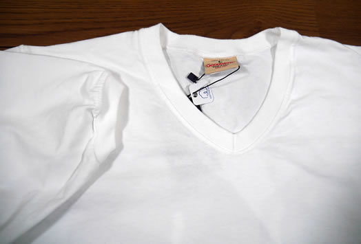 Good Wear, NGW1701, 7.2oz Cotton V-Neck Tee