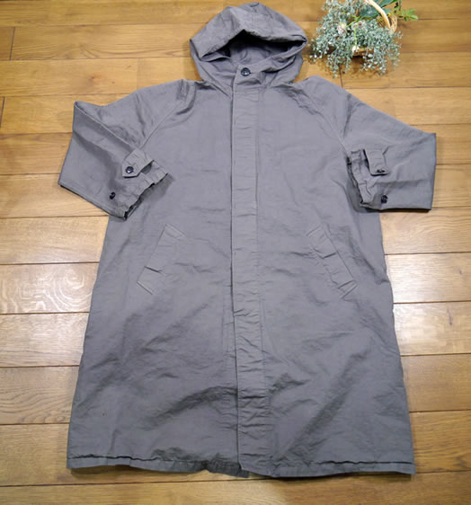 Harrow Town Stores, NHT1701CL, Cotton Linen Hooded Coat