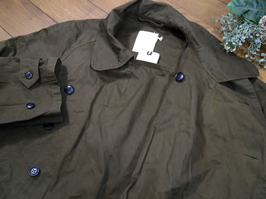Harrow Town Stores, NHT2052DT, Cotton Double Over Coat
