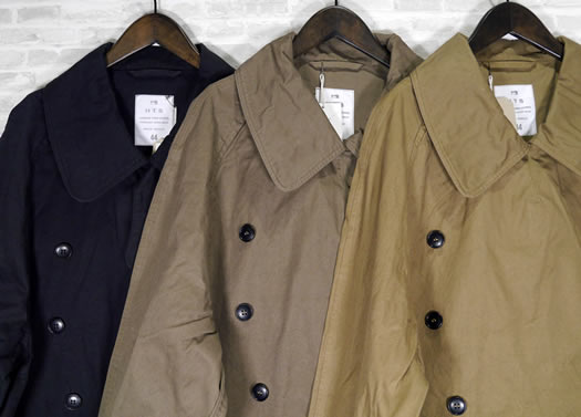 Harrow Town Stores, NHT2052DT, Cotton Twill Double Over Coat