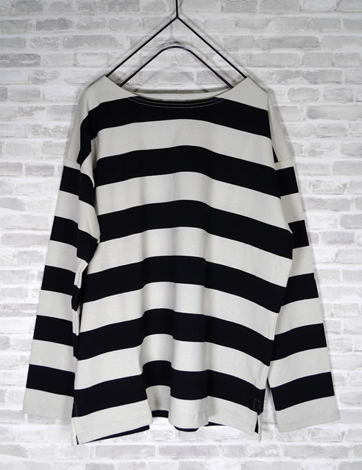 ARMEN, アーメン, NLA1961, Long Sleeve Drop Shoulder Basque Shirt