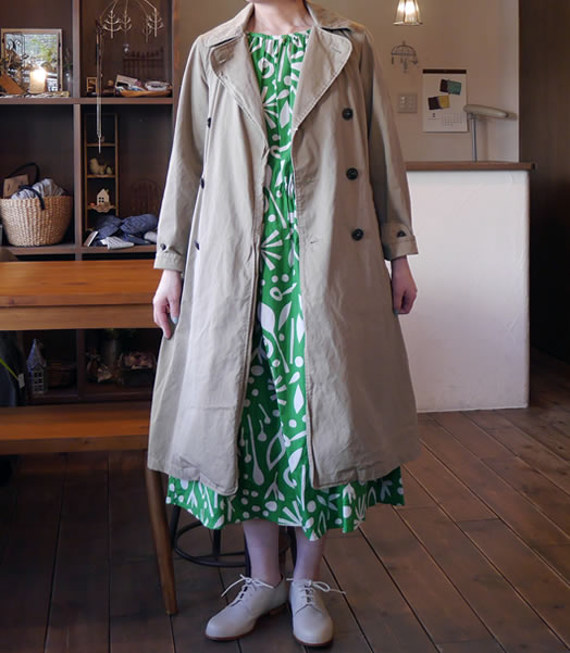 ARMEN, アーメン1、NMPA1701, Double Breasted Coat Full Sleeve