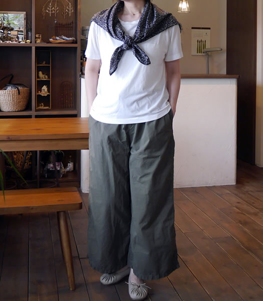 MIUSA, ミウサ, NMST1301,Boat Neck Short Sleeve with Chest Pocket