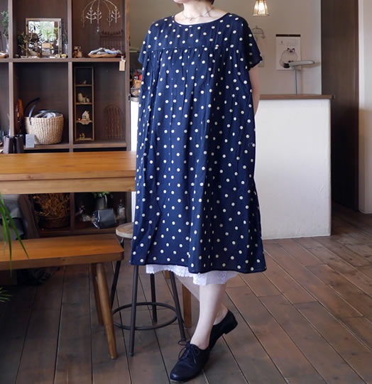 soil, ソイル, NSL17072, Voile & Lace Under Dress