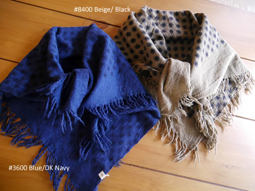 soil, ソイル, NSL18604, Boiled Wool Dot Square Stole