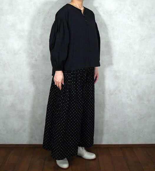 soil, ソイル, NSL19065, Voile Dot Print Culottes