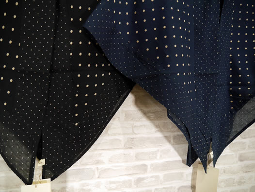 soil, ソイル, NSL19067, Voile Dot Print Triangle Scarf