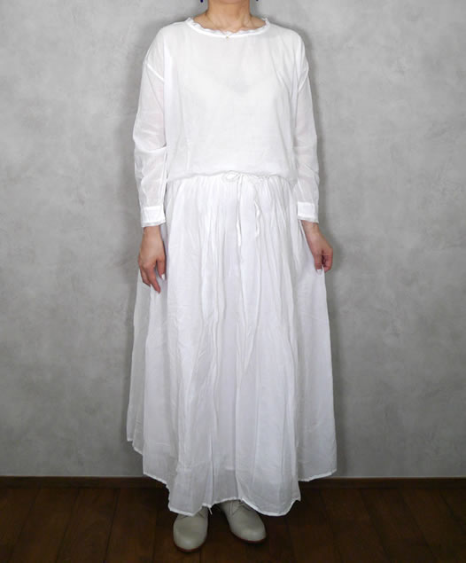 soil, ソイル, NSL19533, Cotton Voile Lace Pull-Over