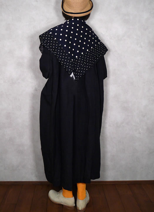 soil, ソイル, NSL20027, Voile Dot Print Square Stole