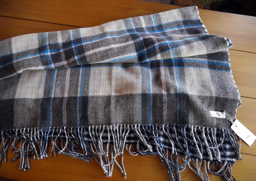 soil, ソイル, NSLP1751, Double Face Check Stole
