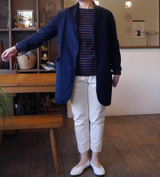 NVL1501D, Vas-y Lentement, ヴァジーラントマン, Men's Center Vent Tailored Coat