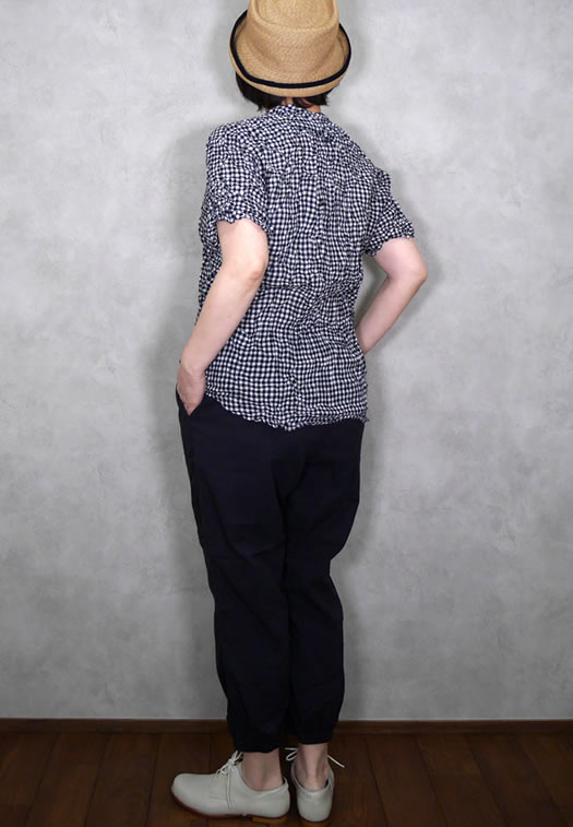 NVL2011CD, Vas-y Lentement, ヴァジーラントマン, 60's Organic Cambric Easy Pants